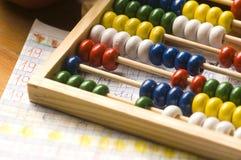 Leçon de mathématiques Photographie stock