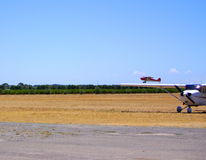 Leçon de vol de Sportcub Image libre de droits