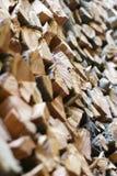 Leña. Foto de archivo libre de regalías