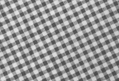 Leñador blanco y negro Plaid Seamless Pattern Fotografía de archivo