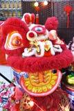 León chino del Año Nuevo imagen de archivo libre de regalías