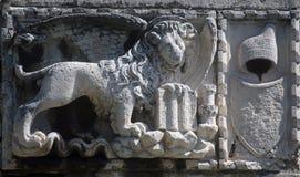 León con alas veneciano fotografía de archivo libre de regalías