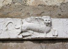 León con alas veneciano Imagen de archivo libre de regalías