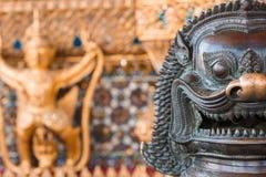 León, criatura mítica del Khmer Foto de archivo libre de regalías