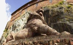 León de Belfort en Francia Fotografía de archivo