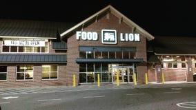 León de la comida en Thomasville, NC Fotografía de archivo libre de regalías