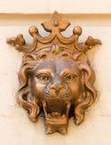León de la escultura Imágenes de archivo libres de regalías