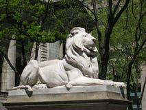 León de New York City Imagen de archivo