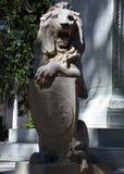 León de Oglethorpe Fotos de archivo libres de regalías