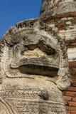 León de piedra Fotografía de archivo libre de regalías