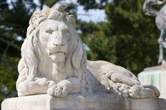 León de piedra Fotografía de archivo