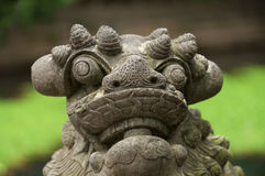 León de piedra chino Fotos de archivo
