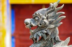 León de piedra, Vietnam Fotos de archivo