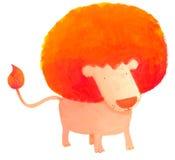 León del Afro Foto de archivo libre de regalías