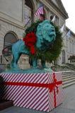 León del día de fiesta Fotografía de archivo libre de regalías