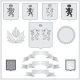 León del escudo de armas Ilustración Libre Illustration