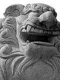 León del templo Imagen de archivo