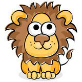 León divertido stock de ilustración