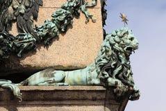 León en Vaticano Imágenes de archivo libres de regalías