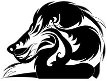 León estilizado ilustración del vector