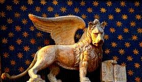 León veneciano Imagen de archivo libre de regalías