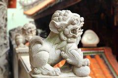 Leões chineses do guardião foto de stock royalty free