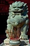 Leões chineses do guardião imagens de stock