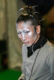 Le太阳马戏团,执行者 图库摄影
