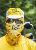 Le环法自行车赛爱好者 免版税图库摄影