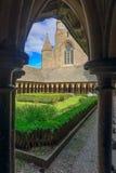 Le的圣米歇尔山修道院 库存照片