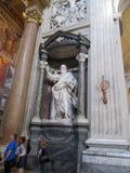 Le ¡ n de San Juan de Letrà de basilique est l'église la plus ancienne au monde l'Italie Roma images libres de droits
