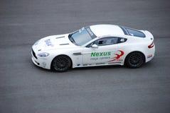 Le ½ 10 de ¿ d'ï du chemin 2 de cuvette d'Aston Martin enroule Image libre de droits