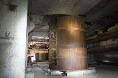 Le 5ème bloc non fini de la centrale nucléaire de Chernobyl Photos libres de droits