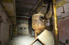 Le 5ème bloc non fini de la centrale nucléaire de Chernobyl Photographie stock libre de droits