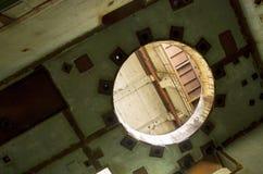 Le 5ème bloc non fini de la centrale nucléaire de Chernobyl Image libre de droits