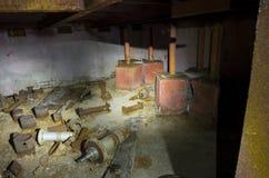 Le 5ème bloc non fini de la centrale nucléaire de Chernobyl Photo libre de droits