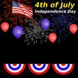 le 4ème juillet Images stock