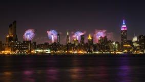 le 4ème juillet dans NYC Photos libres de droits