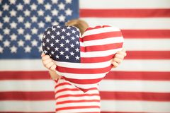 le 4ème juillet, vacances de Jour de la Déclaration d'Indépendance Photo libre de droits