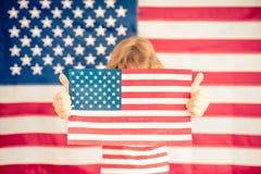 le 4ème juillet, vacances de Jour de la Déclaration d'Indépendance Photographie stock