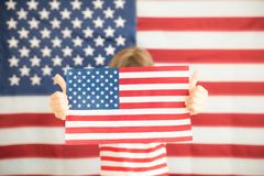 le 4ème juillet, vacances de Jour de la Déclaration d'Indépendance Image stock