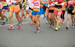 Le 2ème marathonien international Images stock