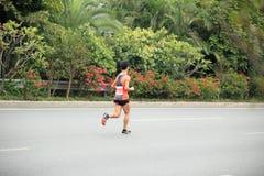 Le 2ème marathonien international Images libres de droits