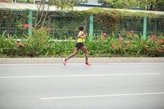 Le 2ème marathonien international Photos stock