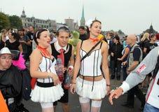 Le 19ème défilé de rue à Zurich, 14 août 2010 Images stock