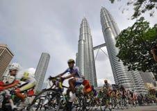 le 2009 Tour de Langkawi, Kuala Lumpur, Malasia. Imagen de archivo