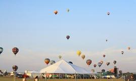 Le 26ème festival annuel de ballon du New Jersey Photographie stock