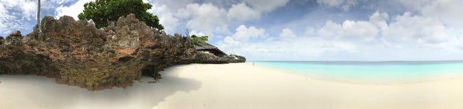 Le acque incontaminate di Zanzibar Immagine Stock Libera da Diritti
