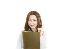 Le affärskvinnan arkivfoton