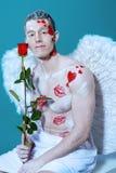 Le ali di amore Immagini Stock